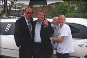 Barringtons Limousines with Fred Dineage for the Elizabeth Foundation